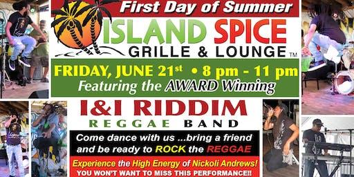 Live Reggae feat I&I Riddim Reggae Band