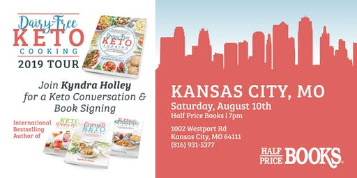KANSAS CITY - Kyndra Holley Book Signing and Meet and Greet - Dairy Free Keto Cooking