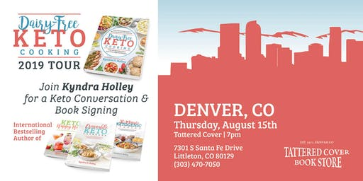 DENVER - Kyndra Holley Book Signing and Meet and Greet - Dairy Free Keto Cooking