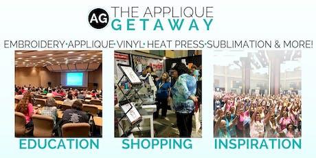 2019 Applique Getaway tickets