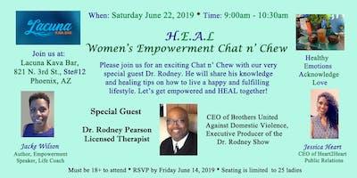 H.E.A.L  Women's Empowerment Chat n' Chew