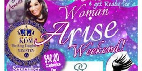 THE KING DAUGHTERS WOMAN ARISE CONFERENCE  tickets