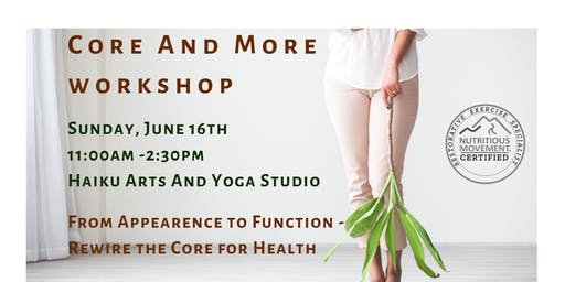 Core and More - workshop