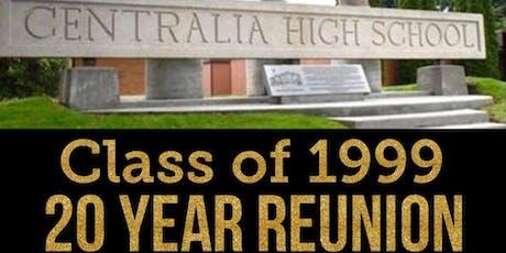 CHS Class of 1999 - 20 Year Reunion tickets
