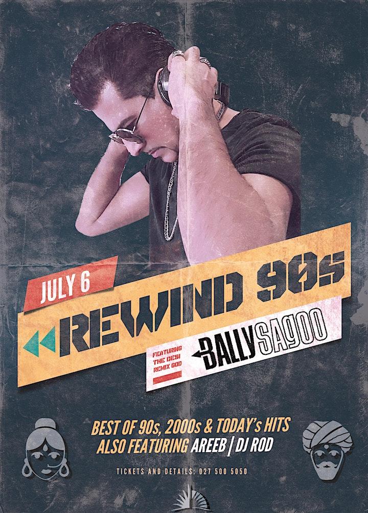 Rewind 90s with Bally Sagoo - Bollywood Affair at Skycity image