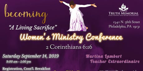 Women's Ministry Conference tickets