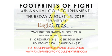 Footprints of Fight 4th Annual Golf Tournament tickets