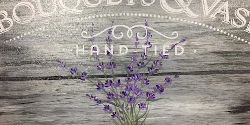 Lavender Paint with Me