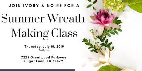 Summer Wreath Making Workshop tickets