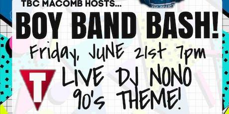 BOY BAND BOXING BASH with DJ NONO tickets