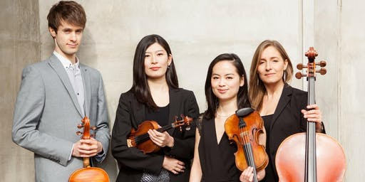 Berwick Music Series 2019. Concert by the Dulcinea Quartet