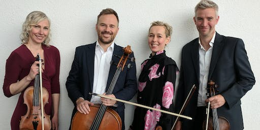 Berwick Music Series 2019. Concert by the Frankland Quartet