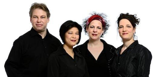 Berwick Music Series 2019. Concert by Quatuor Bozzini