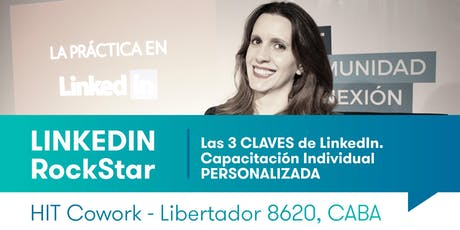 Taller LINKEDIN RockStar A MEDIDA - Capacitación Individual Personalizada tickets