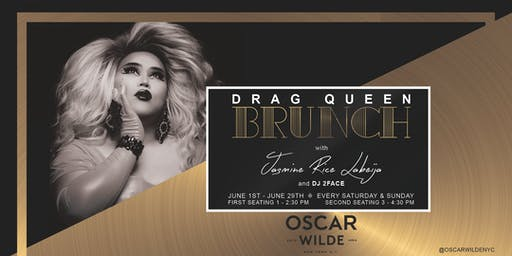 Drag Brunch at Oscar Wilde! (Second Seating 3:00 pm - 4:40 pm) Walk-ins Welcome.
