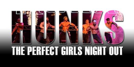 HUNKS The Show at La Pachanga Nightclub (Chattanooga, TN)