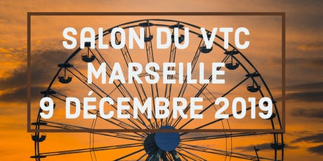 Reunion d'information Exposant salon du VTC Marseille billets