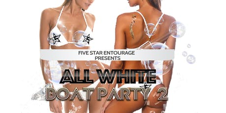 All White Boat Party 2 tickets