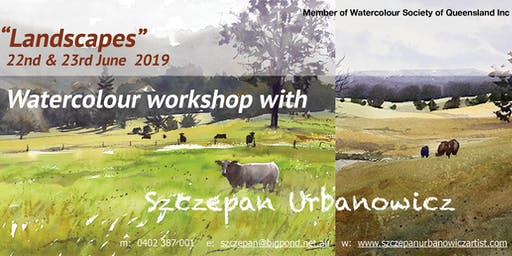 "WATERCOLOUR WORKSHOP - ""Landscapes"""