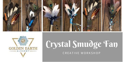 Crystal Smudge Fan Workshop