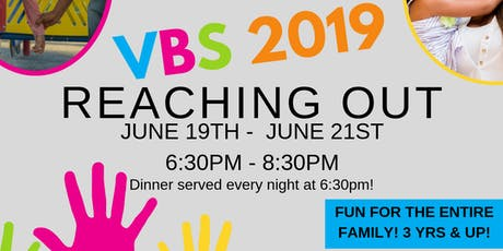Legacy Pointe Church Vacation Bible School 2019: REACHING OUT tickets