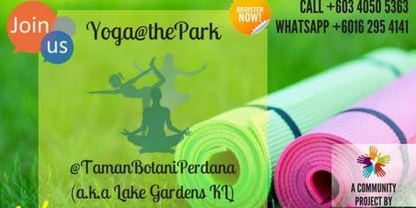 FREE Yoga@thePark on 29th June 2019. tickets
