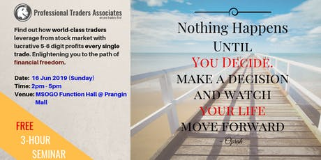 Knowledge to Ultimate Wealth: How to Beat the Stock Market (Penang) tickets