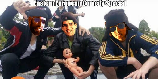 Laughing Spree Comedy Showcase - Eastern Europe edition III