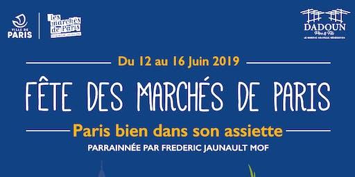 Fête des Marchés de Paris 2019