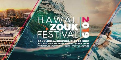 Hawaii ZOUK Festival 2019 + Aloha Experience tickets