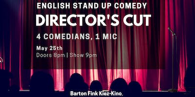 Director's Cut II - English Stand Up Comedy in West Berlin w/ FREE SHOTS
