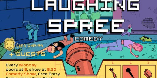 Laughing Spree Comedy - free live English comedy w/ FREE SHOTS!