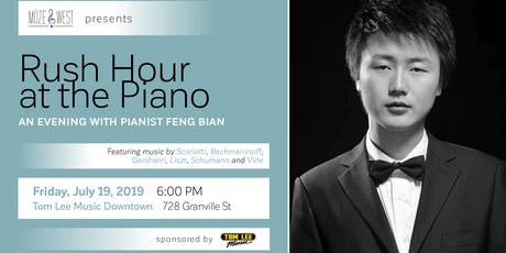 Rush Hour at the Piano - Feng Bian in recital tickets