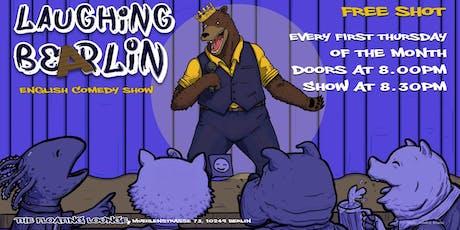 Laughing Bearlin English Comedy Showcase w/ FREE SHOTS Tickets