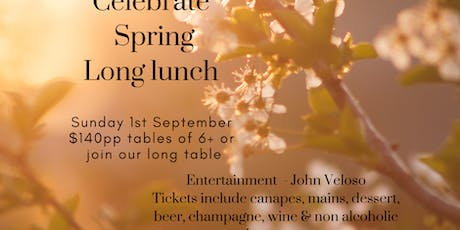 Yabbaloumba Retreat Celebrate Spring Long Lunch tickets