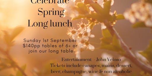 Yabbaloumba Retreat Celebrate Spring Long Lunch