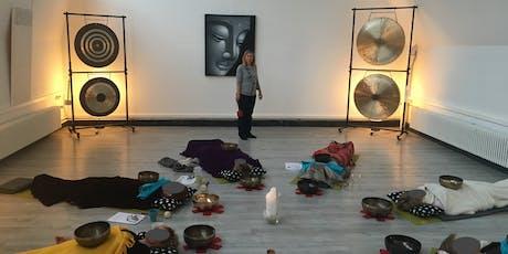 Soirée découverte méditation au son des bols planétaires billets