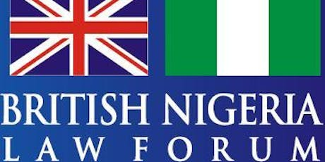 British Nigeria Law Forum (BNLF) Seminar in Lagos - 'Trends redefining the Finance Industry: From a Regulatory and Legal perspective' tickets