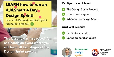 Learning Design Sprints from an AJ&Smart CERTIFIED Sprint Facilitator tickets