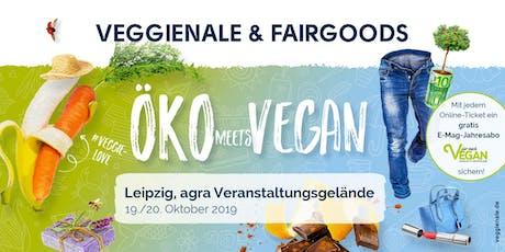 VEGGIENALE & FAIRGOODS Leipzig 2019 Tickets