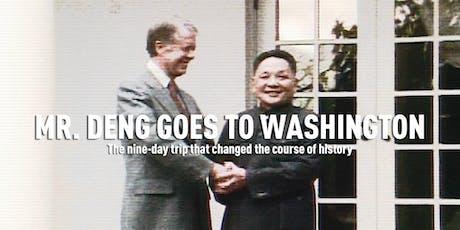 Mr. Deng Goes to Washington  (旋风九日) tickets