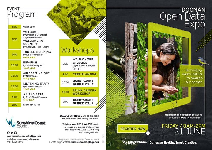 Doonan Open Day Expo, DODE - immersive encounters with creatures & forests. image