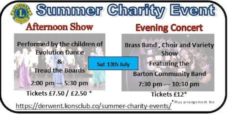 Lions Summer Charity Events tickets