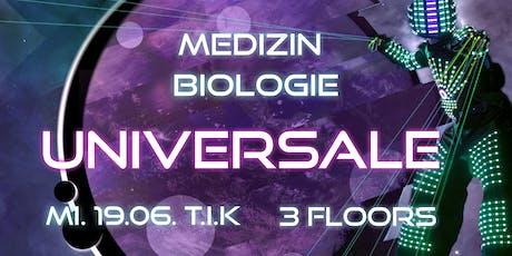 Universale @ T.I.K // 3 Floors, XL Robot & Neondance Tickets