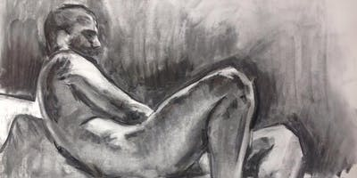 Drawing from the Life Model: Innovative techniques with Charcoal 28th June