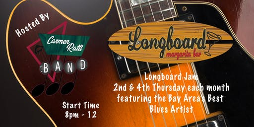 FREE: Longboard Jam hosted by Carmen Ratti Band feat. Chris Cobb
