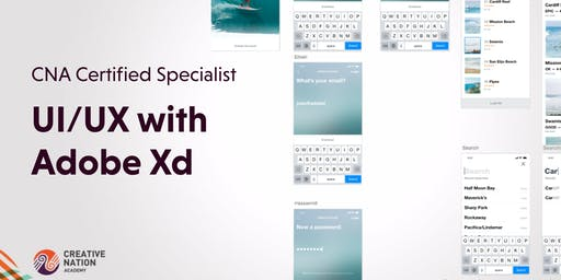Certified Specialist: UI / UX with Adobe Xd (2 Day Workshop)