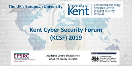 Kent Cyber Security Forum (KCSF) 2019 tickets