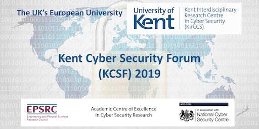 Kent Cyber Security Forum (KCSF) 2019