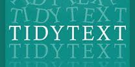 Text Mining Using Tidy Data Principles tickets